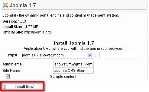 Joomla 1.7
