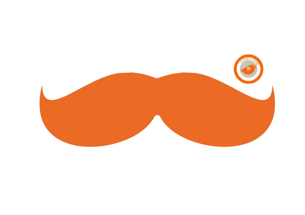 paecyipato DIY: Mustache-Shirt - paecyipato