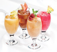 Picture of 4 random drinks