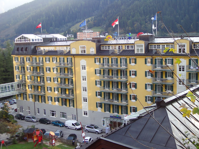 Hotel Bellevue Mondi at Bad Gastein Austria