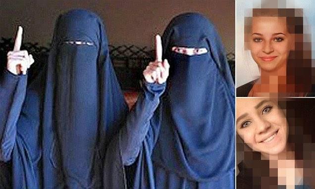 Dua mujahidah Austria - Samra Kesinovic and Sabina Selimovic