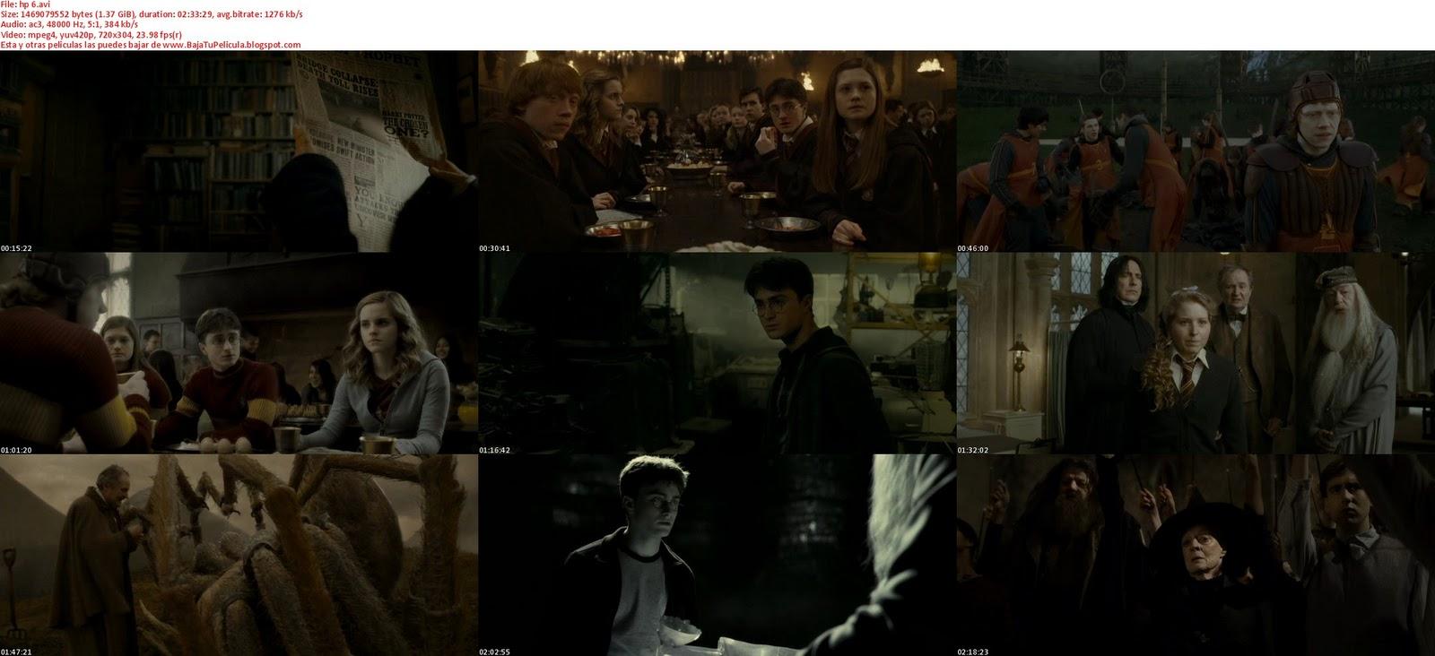 Harry Potter 6 descargar