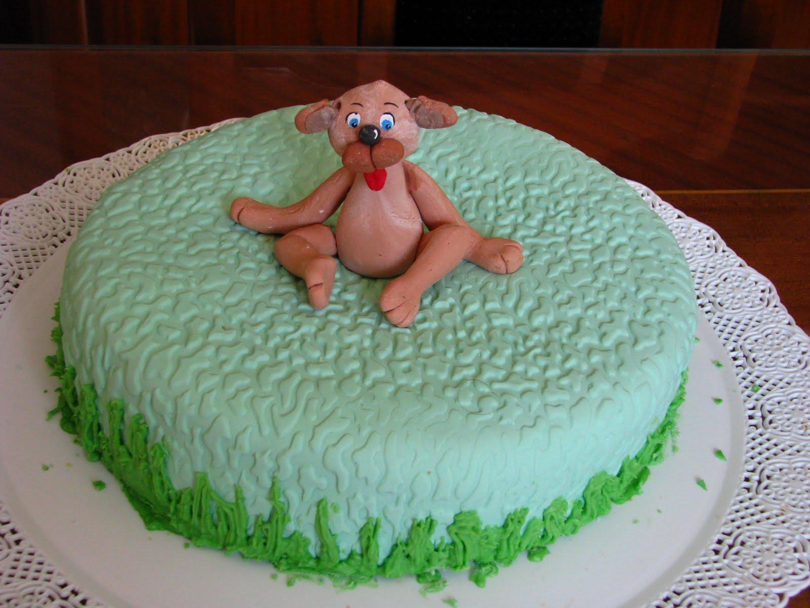 Mi primer torta decorada