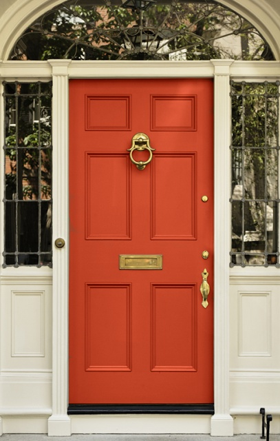 Superieur Coral Front Door