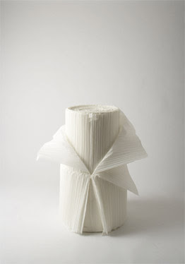 Cabbage Chair transformation by nendo