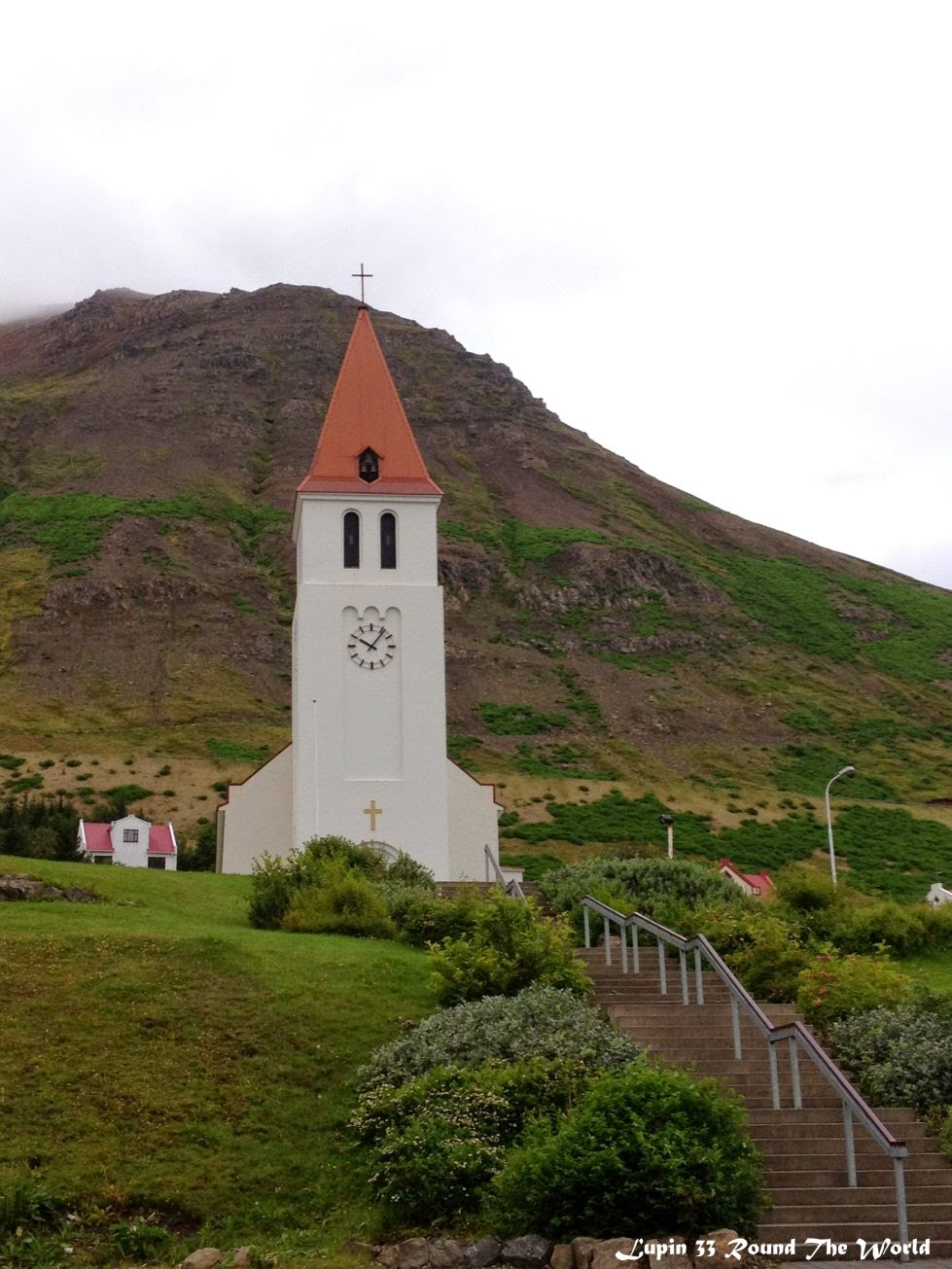 冰島自助旅行遊記照片-Siglufjordur教堂