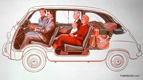 1955 Fiat 600 Multipla