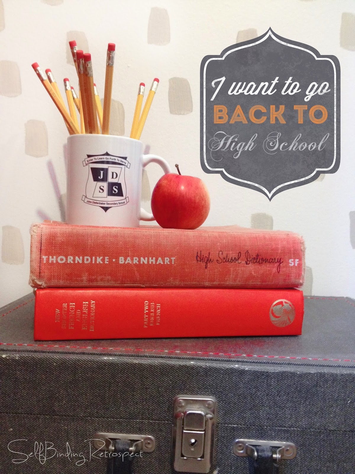 I want to go back to high school - SelfBinding Retrospect by Alanna Rusnak