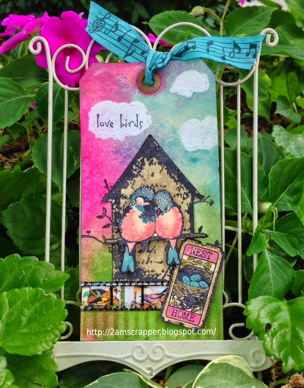 My guest designer tag for Things With Wings