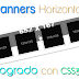"""Banner Contex"" - 4 Banners horizontales con CSS3"