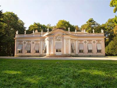 Habitación de los espejos de Amalienburg del Palacio de Nymphenburg
