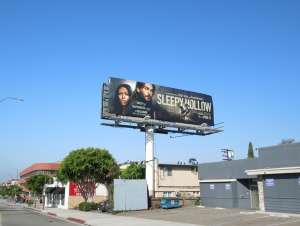 Sleepy Hollow season 1 billboard