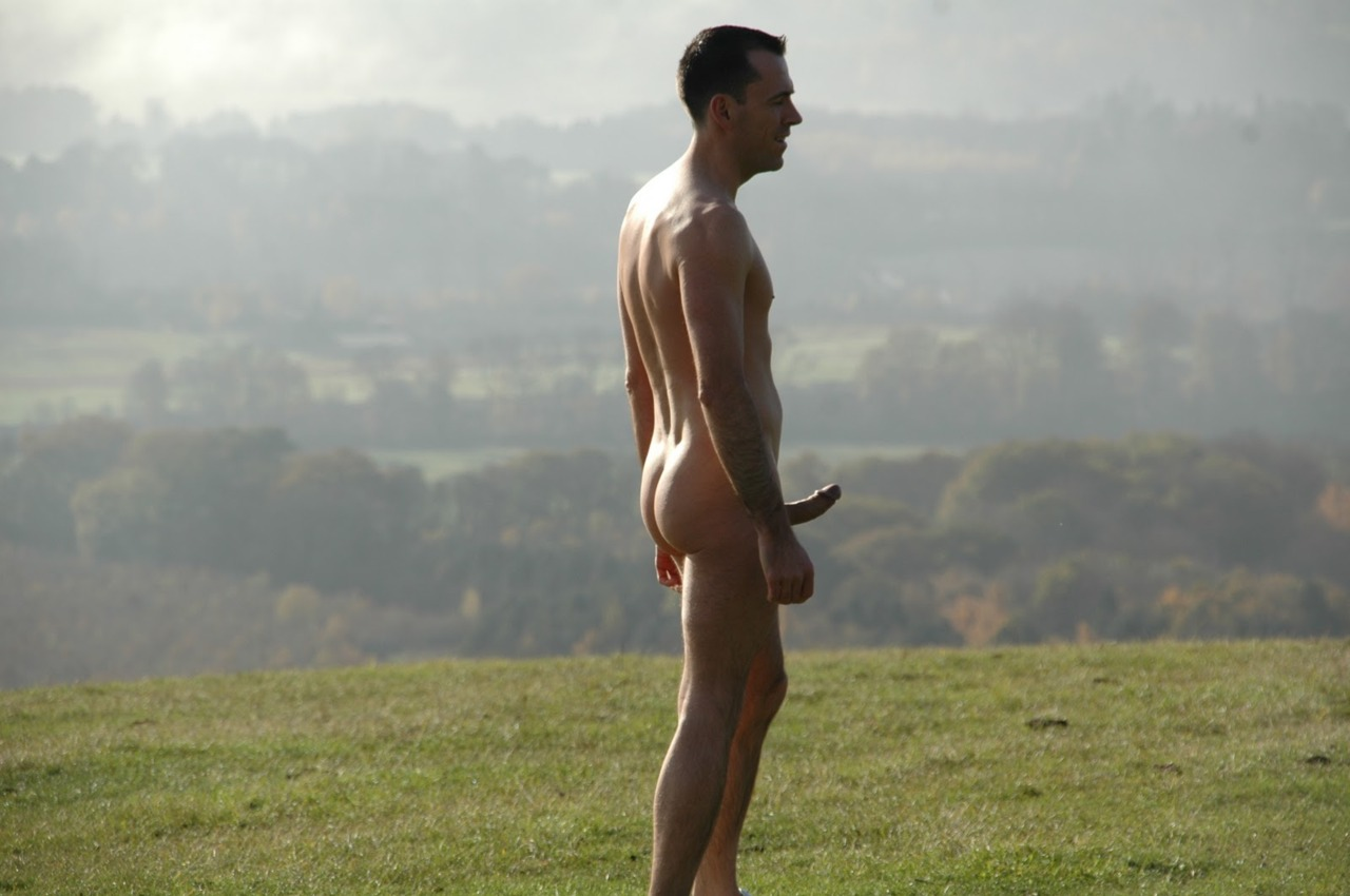 nude men in nature