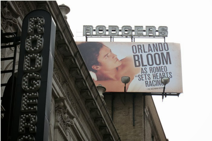 New York :: Richard Rogers Theater - Romeo & Juliet Musical with Orlando Bloom