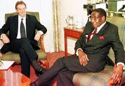 Blair and Mugabe