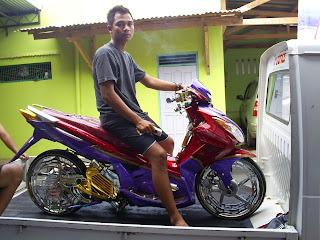 Modifikasi Motor Yamaha Nouvo