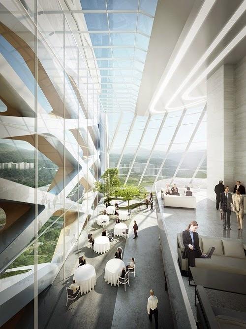 Interior Design Of University Buildings In Korea Land
