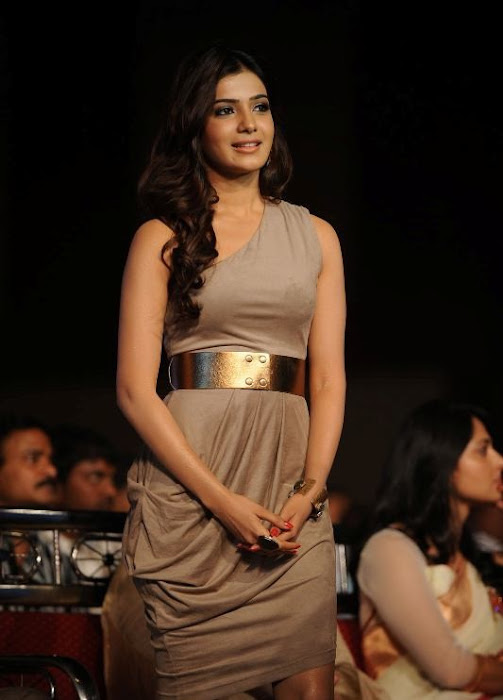 samantha at lux sandal cinemaa awards