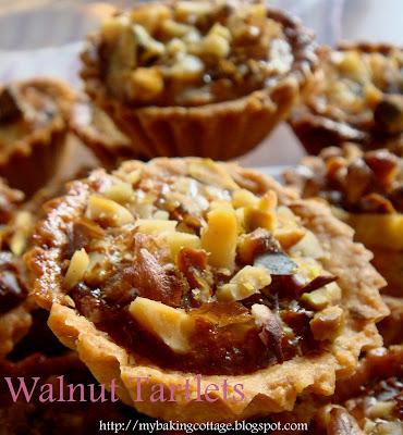 mini walnut tarlets