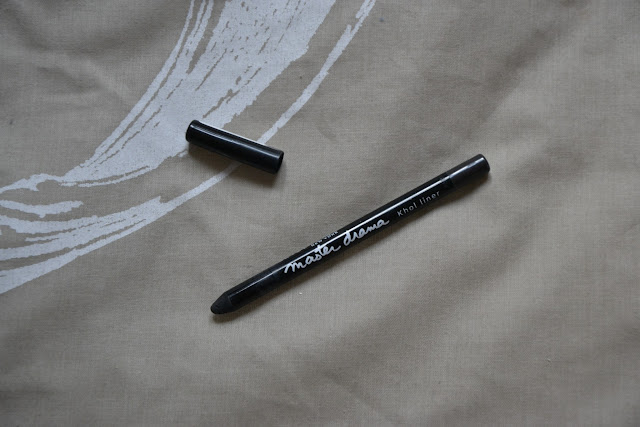 Review: Maybelline Master Drama Kohl Eyeliner Charcoal Grey