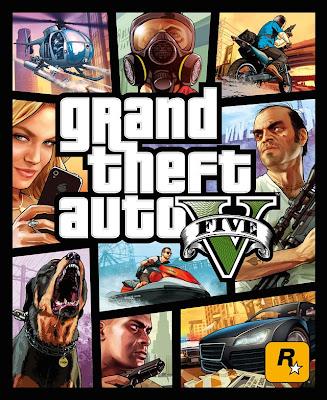 Portada del juego Grand Theft Auto V ;-)