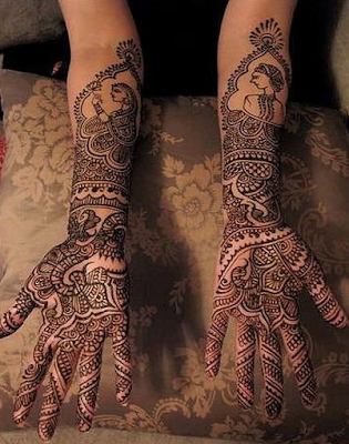Full Indian Wedding Bridal mehndi Designs Collection