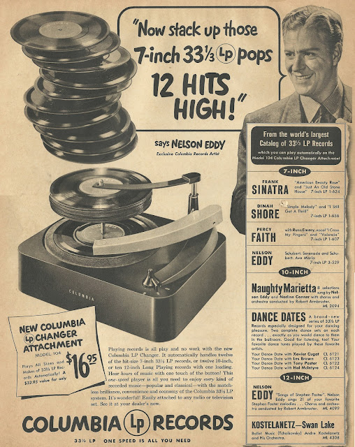 Old Ads Are Funny 1950 Ad Columbia Lp Records