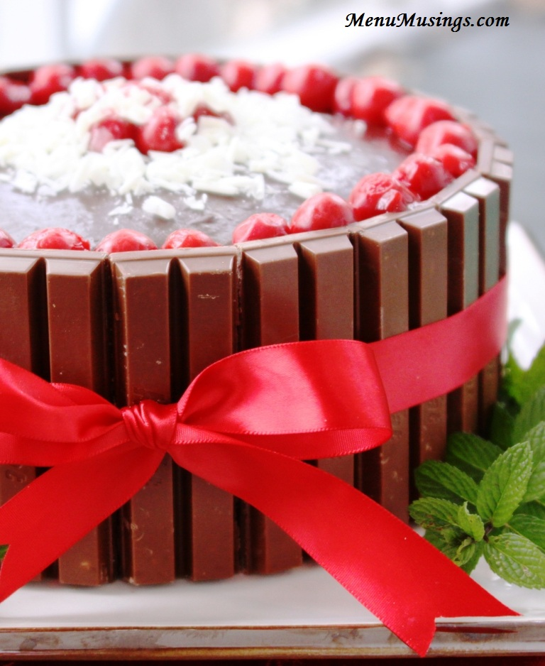 Chocolate Covered Cherries Cake