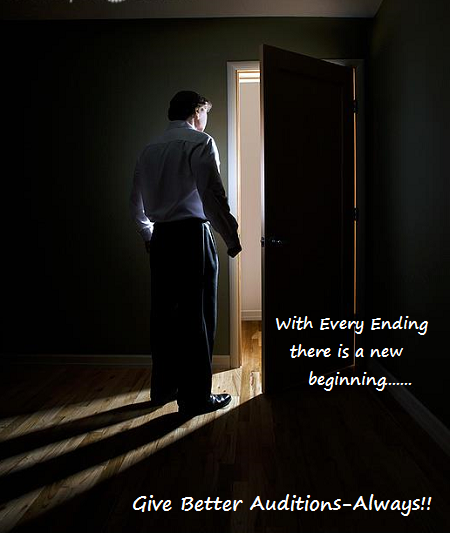 A new door opens after every audition