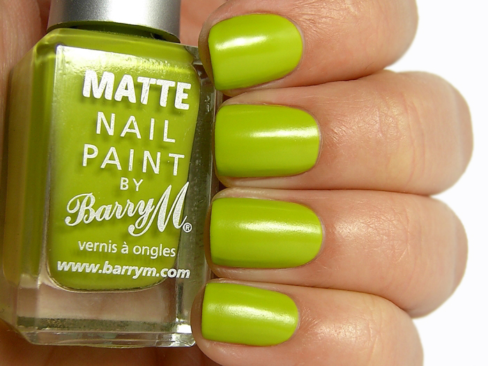 Barry M Matte Nail Paint Waikiki