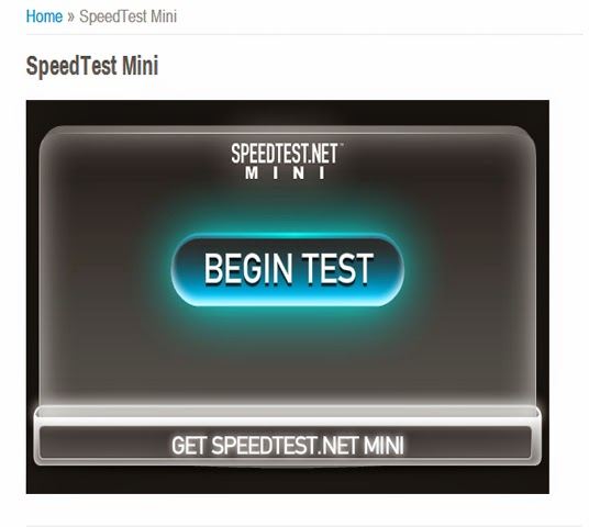 Cara Memasang Widget Speedtest Mini Pada Blog