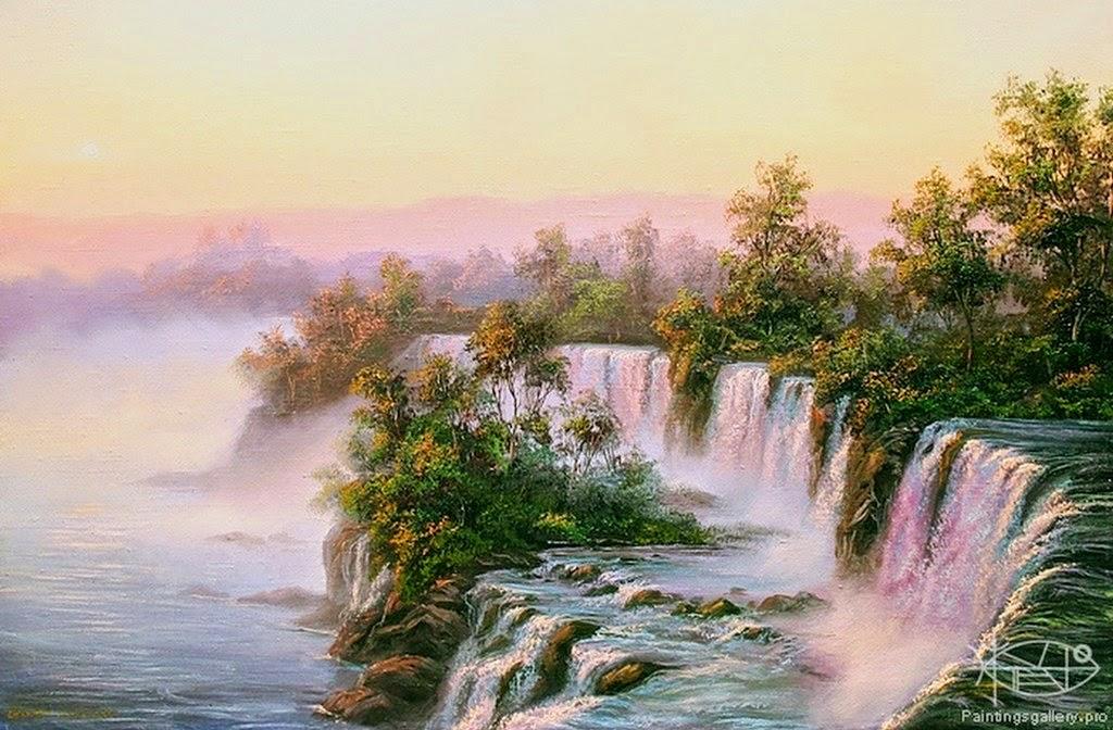 paisajes-cascadas-cuadros