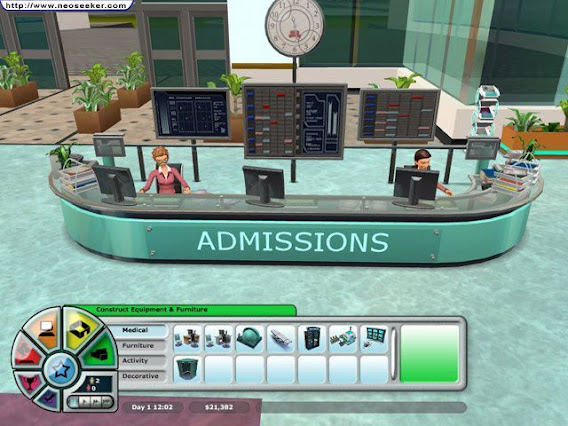 Hospital Tycoon ScreenShot 01