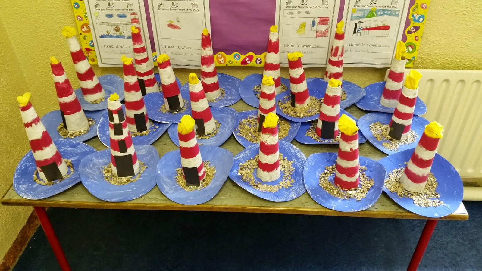 Senior Infants And 1st Class April May Art Work And Displays