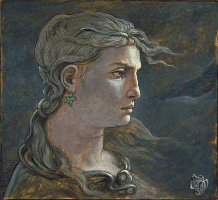 Elihu Vedder 1836-1923 | American symbolist painter and illustrator