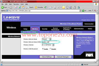 Configure Wireless Router6