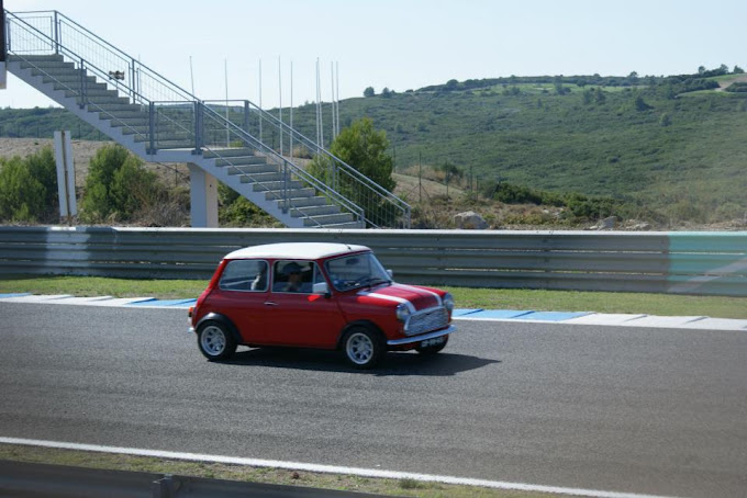O meu MINI no Autodromo do Estoril