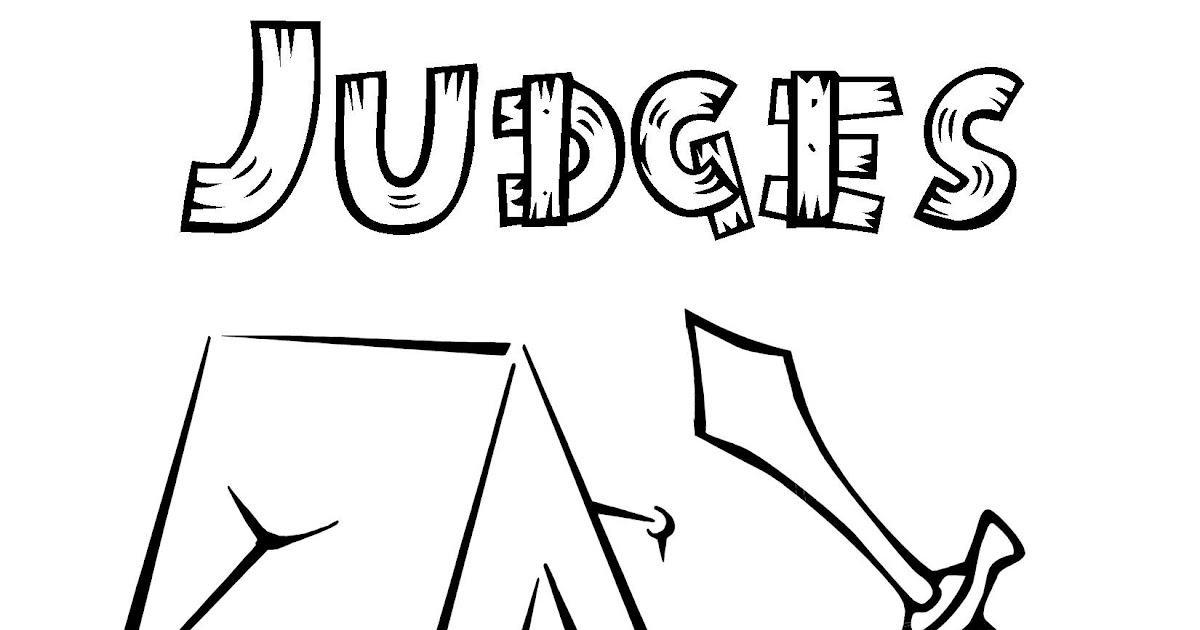 Book of Judges Free Coloring