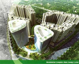 phoi canh tong the xuan mai tower