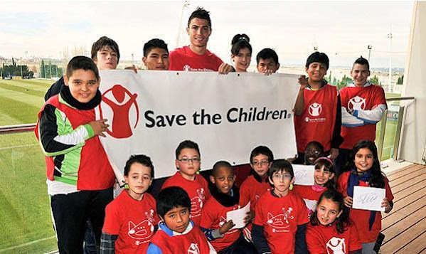 Cristiano Ronaldo named the most charitable athlete in the world. See top 20 list
