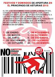 APERTURA DE DOMINGOS Y FESTIVOS ASTURIAS 2013