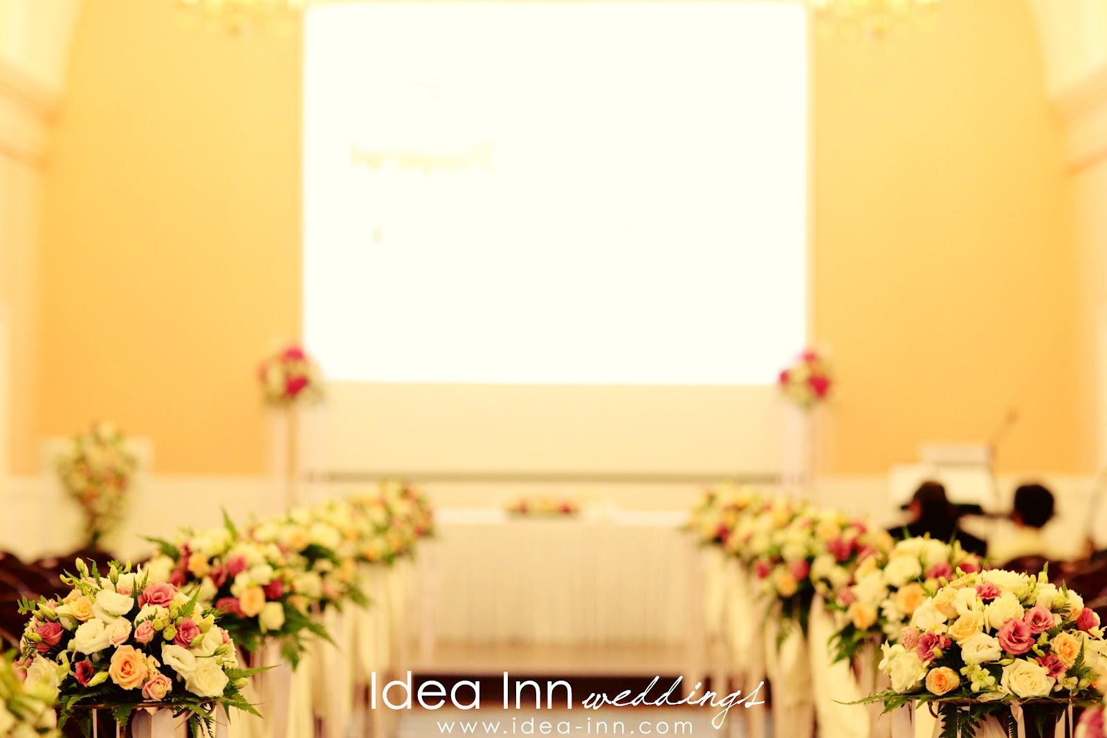 church decoration wedding singapore aisle