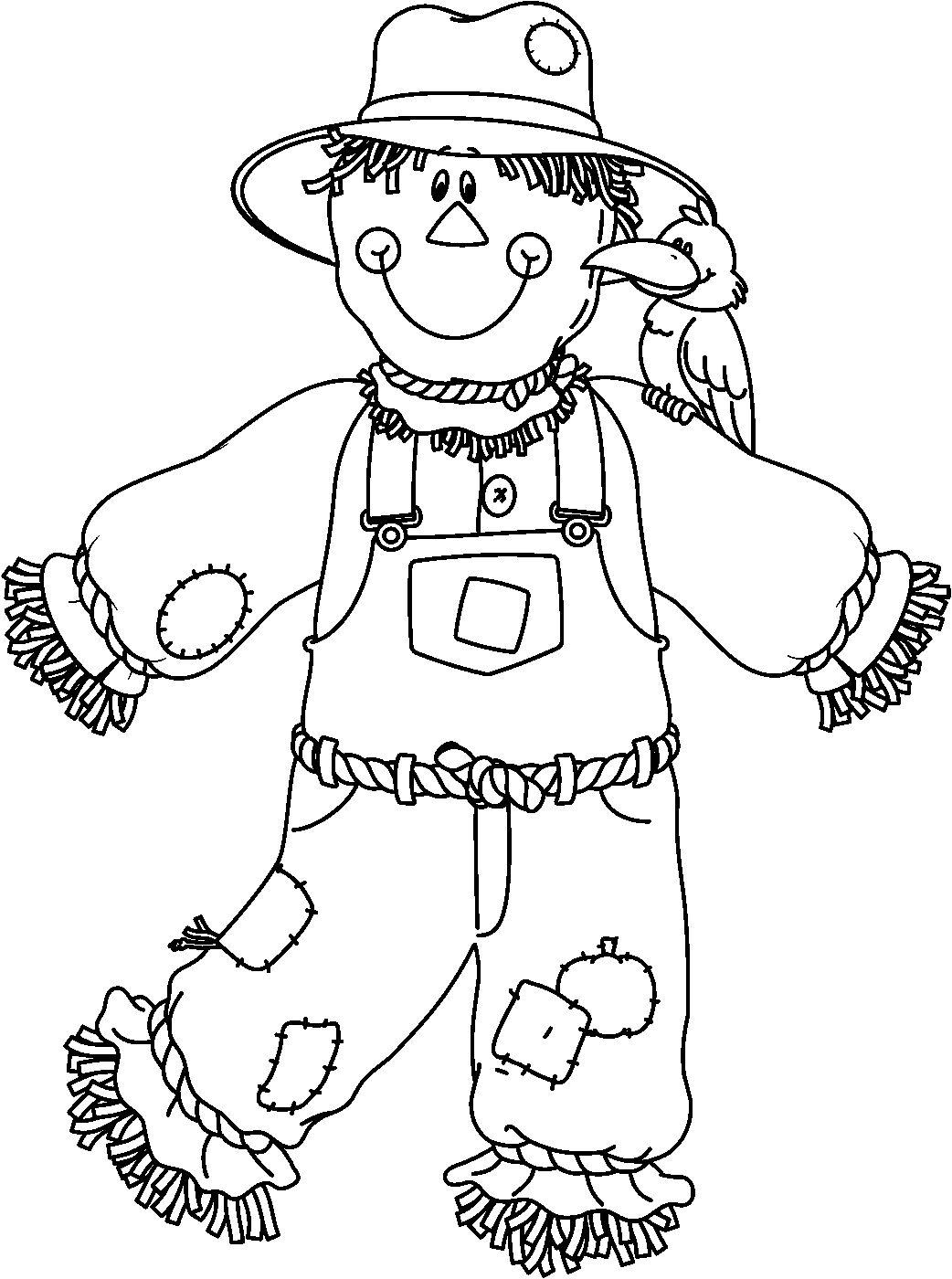 Menta m s chocolate recursos y actividades para for Coloring pages scarecrow