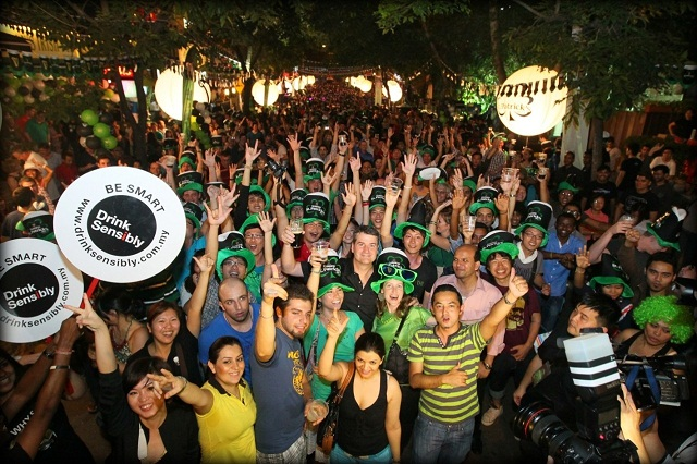 St Patrick's Day Street Party