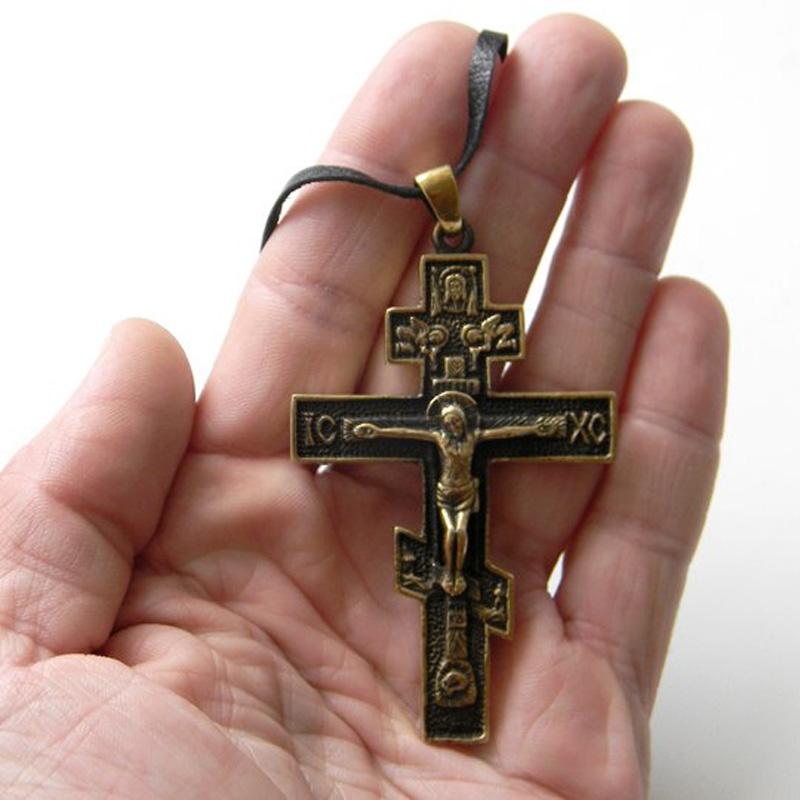 купить православный крест латунь россия интернет-магазин