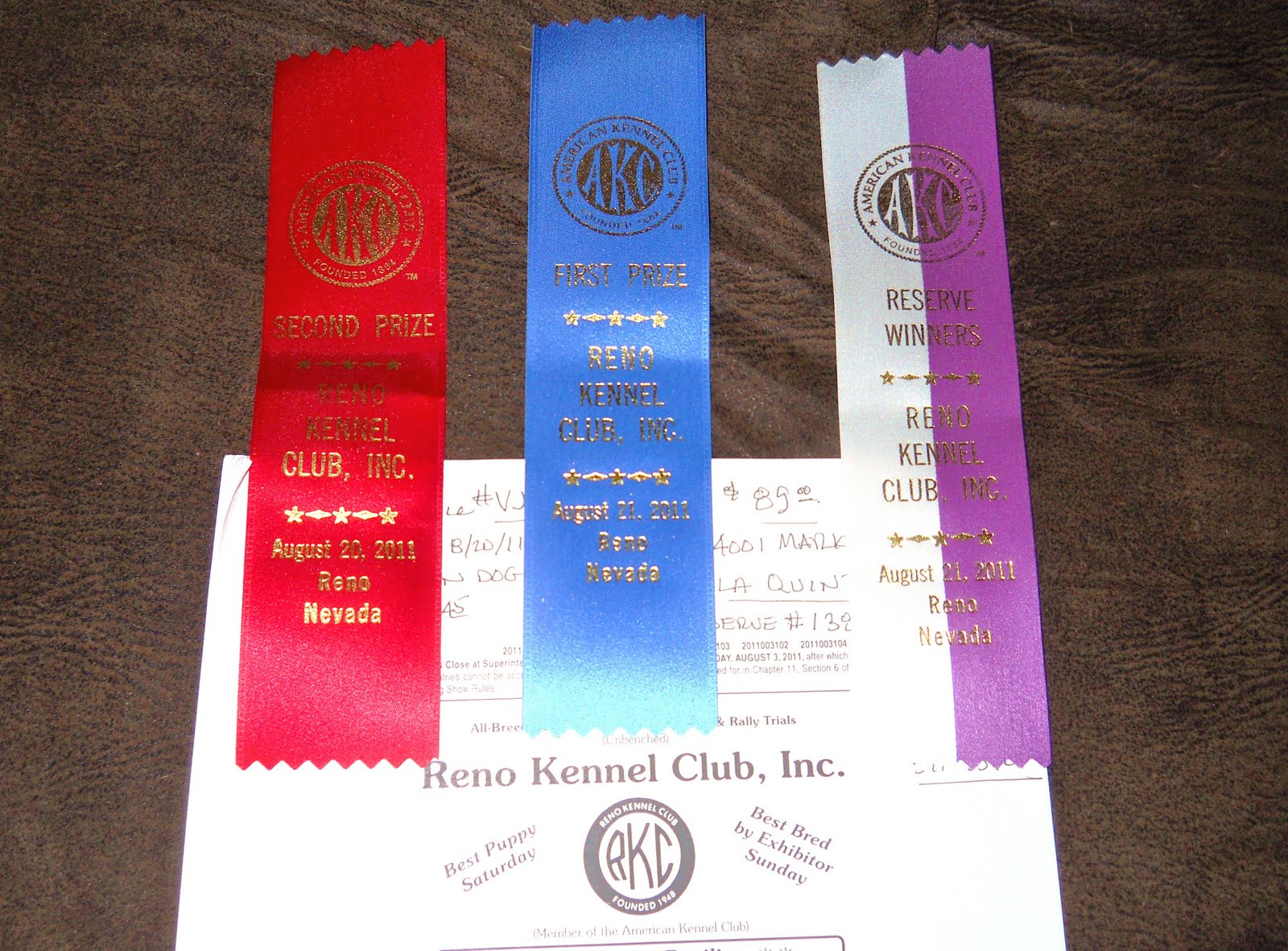 Schedule For Reno Kennel Club Dog Show