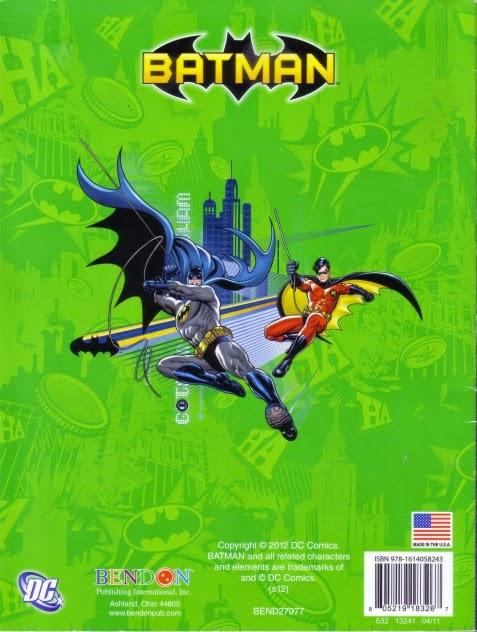 Back Cover Of Bad Guys Beware Batman Jumbo Coloring And Activity Book