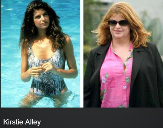 Kirstie Alley Aging