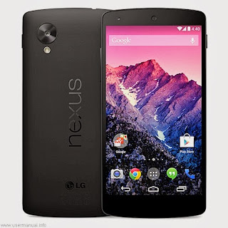 LG Nexus 5 D820 user guide manual for Sprint