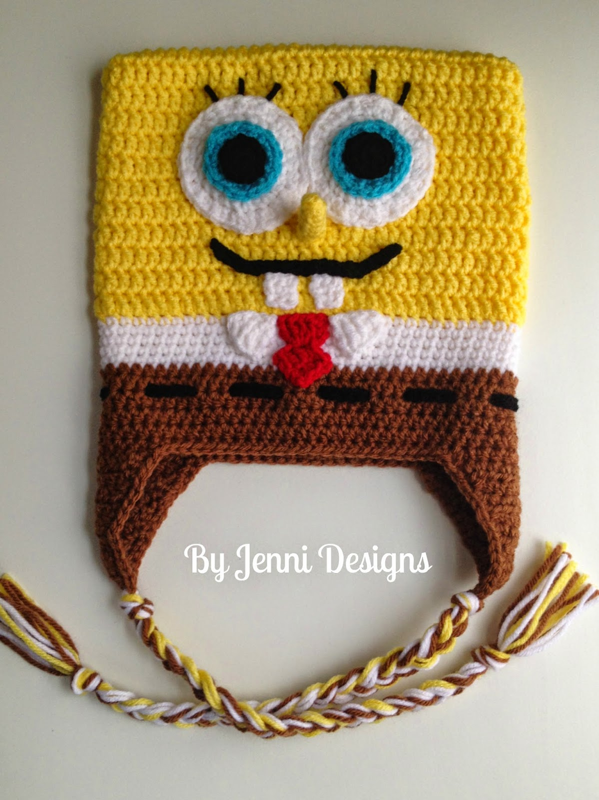 By Jenni Designs: Free Crochet Pattern: Spongebob ...